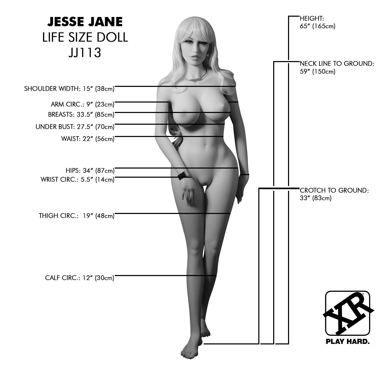 JJ113 Dimensions