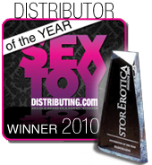 Sex Toy Distributing Wins Store Erotica Sex Toy Distributor of the Year