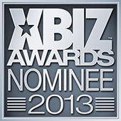 We have been nominated for an award by XBiz