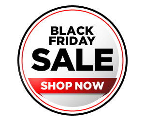Use this Free 300 x 250 web banner to promote your own Black Friday Sale!