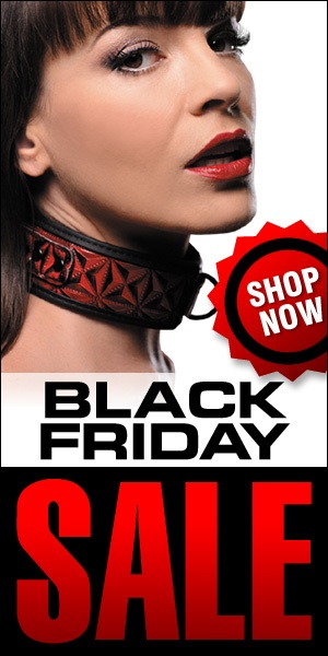 Use this Free 300 x 600 web banner to promote your own Black Friday Sale!