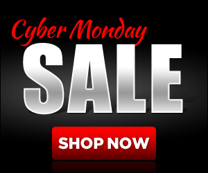 Use this Free 320 x 250 web banner to promote your own Cyber Monday Sale!