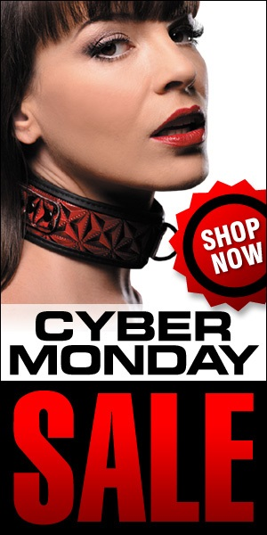 Use this Free 300 x 600 web banner to promote your own Cyber Monday Sale!